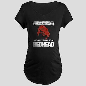 redhead Maternity T-Shirt
