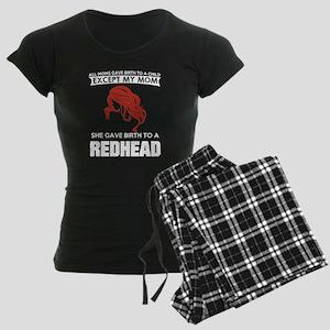 redhead Women's Dark Pajamas
