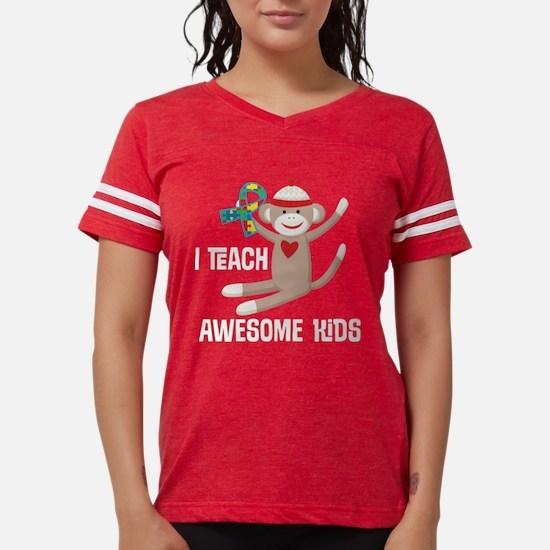 Autism Teacher Puzzle Ribbon T-Shirt