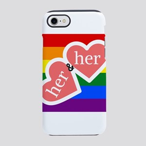 Her and Her iPhone 8/7 Tough Case