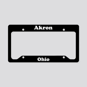 Akron OH License Plate Holder