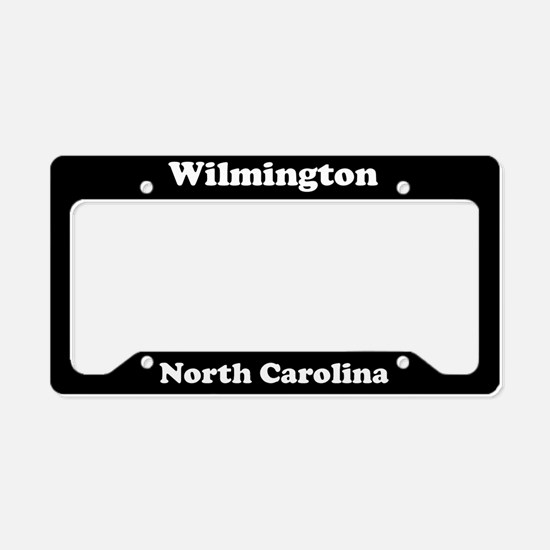 Wilmington NC License Plate Holder