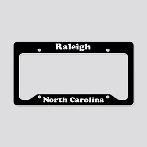 Raleigh NC License Plate Holder