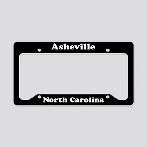 Asheville NC License Plate Holder