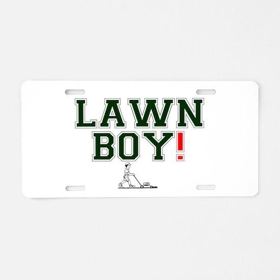 LAWN BOY! Aluminum License Plate