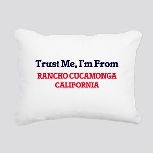 Trust Me, I'm from Ranch Rectangular Canvas Pillow