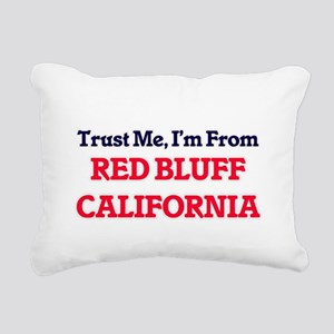 Trust Me, I'm from Red B Rectangular Canvas Pillow