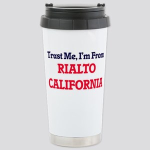 Trust Me, I'm from Rial Stainless Steel Travel Mug