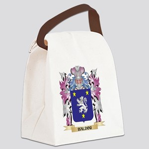 Baldini Coat of Arms (Family Cres Canvas Lunch Bag