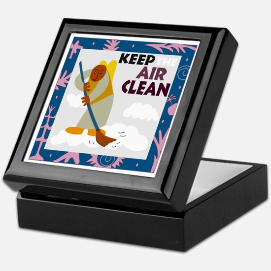 Clean Air Keepsake Box