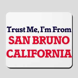 Trust Me, I'm from San Bruno California Mousepad