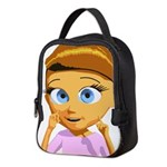 Girl Neoprene Lunch Bag