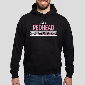 redhead Hoodie (dark)
