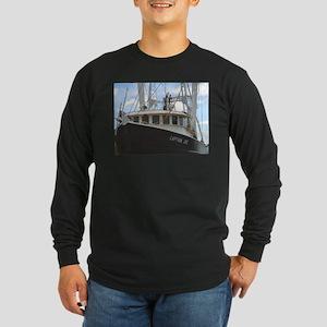 Captain Joe Long Sleeve Dark T-Shirt