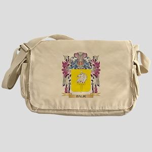 Balik Coat of Arms (Family Crest) Messenger Bag