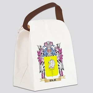 Balik Coat of Arms (Family Crest) Canvas Lunch Bag