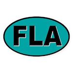 Florida Oval Sticker