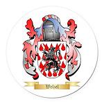 Welzel Round Car Magnet