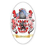 Welzel Sticker (Oval)