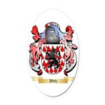 Welz Oval Car Magnet