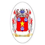 Welman Sticker (Oval 50 pk)