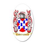 Wellington 35x21 Oval Wall Decal