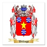 Wellings Square Car Magnet 3