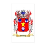 Welling Sticker (Rectangle 50 pk)