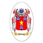 Welling Sticker (Oval 50 pk)