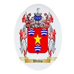 Wellin Oval Ornament