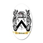 Welliam 35x21 Oval Wall Decal
