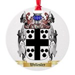 Wellesley Round Ornament