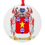 Weller Round Ornament