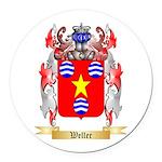 Weller Round Car Magnet