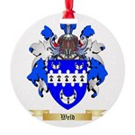 Weld Round Ornament