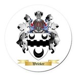 Welcker Round Car Magnet