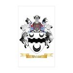 Welcker Sticker (Rectangle 50 pk)