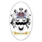 Welcker Sticker (Oval 50 pk)