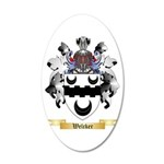 Welcker 20x12 Oval Wall Decal