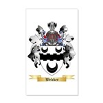 Welcker 20x12 Wall Decal