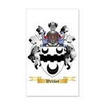 Welcker 35x21 Wall Decal