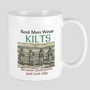 Real Men Wear Kilts Mugs