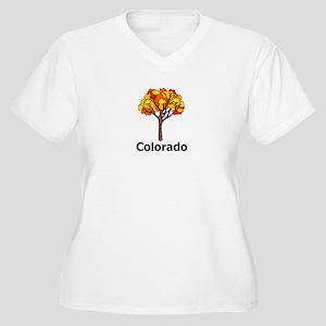 Colorado Women's Plus Size V-Neck T-Shirt