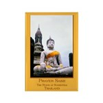 Buddha & Prayer Sash Rectangle Magnet (10 pack)