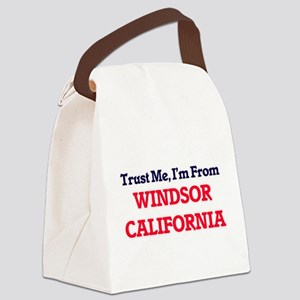 Trust Me, I'm from Windsor Califo Canvas Lunch Bag
