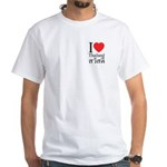 Buddha & Prayer Sash White T-Shirt