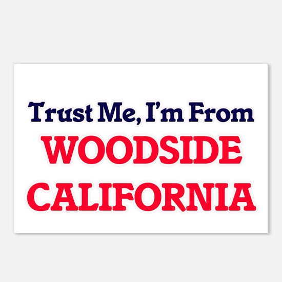 Trust Me, I'm from Woodsi Postcards (Package of 8)