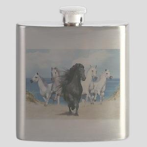 Wild Black Beauty Leader Flask