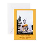 Buddha & Prayer Sash Greeting Cards (Pk of 10)