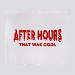 After Hours Throw Blanket